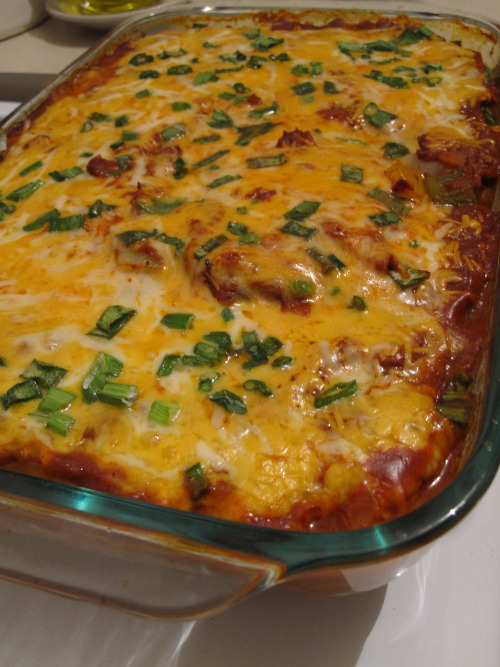 Enchilada Chicken