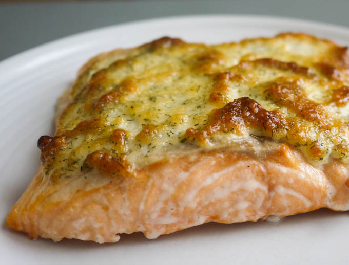 Mustard and Dill Salmon